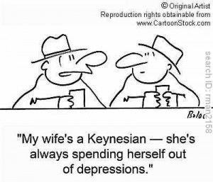 Keynesian Economics Keynesian economics also called Keynesianism and Keynesian theory is a school of macroeconomic thought based on the ideas of 20th-century English economist John Maynard Keynes.