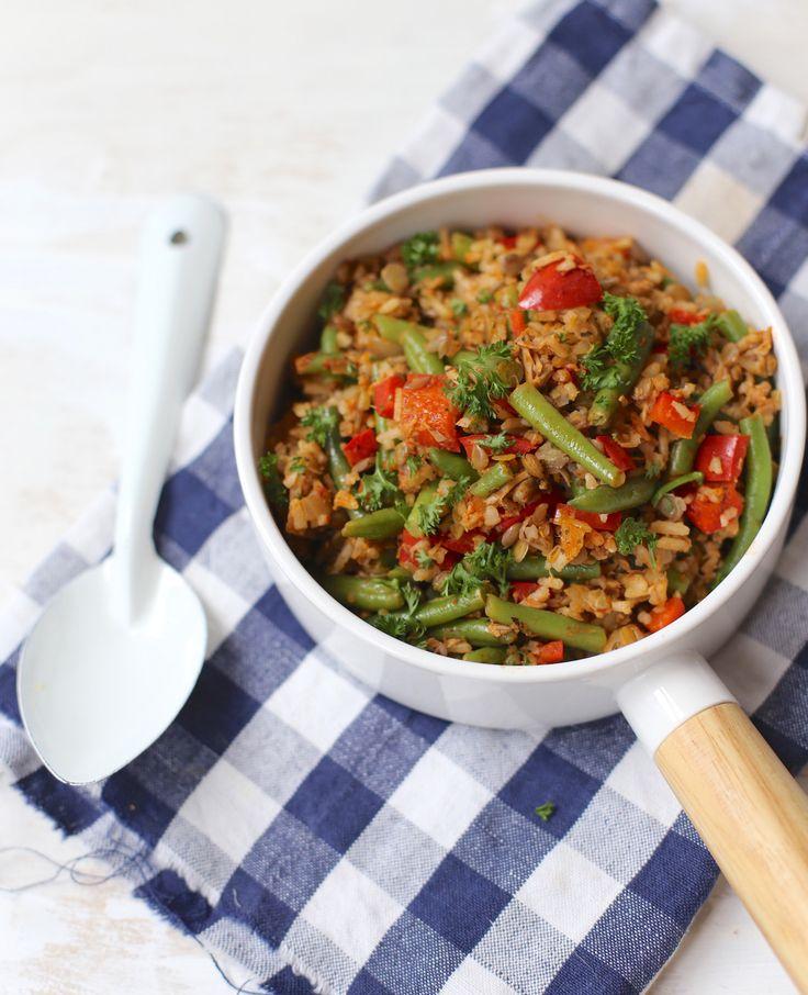 Deze rijstschotel met onder andere tonijn en sperziebonen is makkelijk om te bereiden én gezond! Een ideaal gerecht voor tijdens Flair Fit