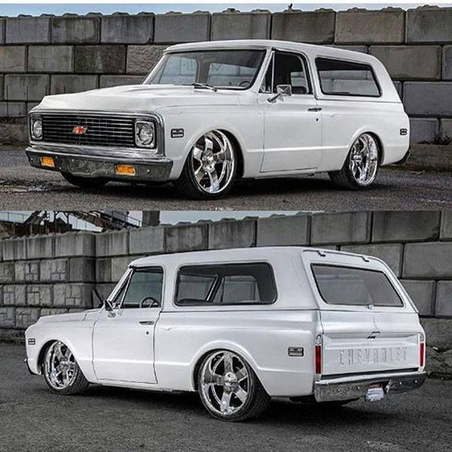 "Chevy C - 10 Blazer, Hammered, In ""Pearl White"" Finish!... ;)"