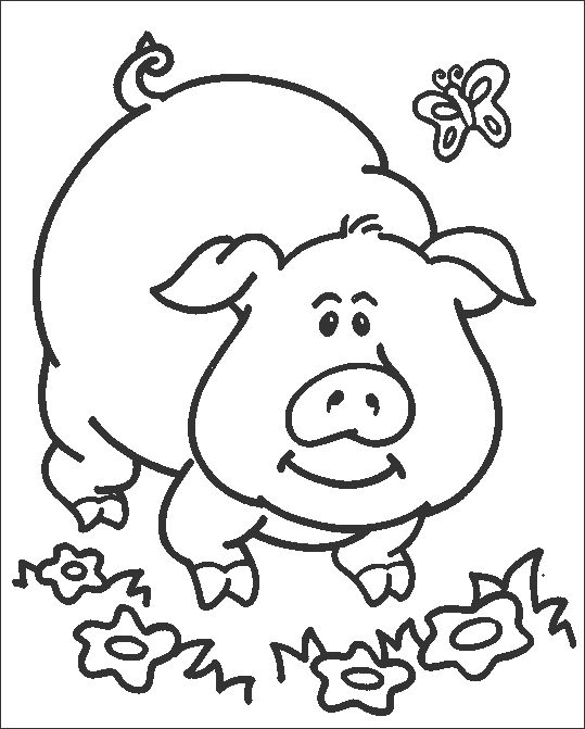 find this pin and more on coloring page for kids - Pictures To Colour For Toddlers