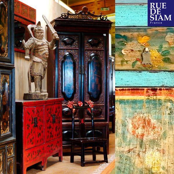 1000 images about rue de siam meubles chine ancienne on pinterest tibet belle and note. Black Bedroom Furniture Sets. Home Design Ideas