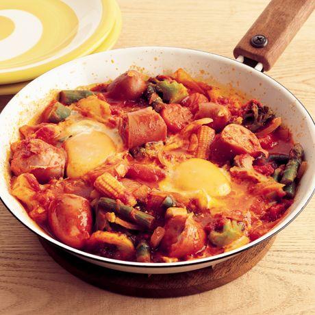 ころころソーセージのトマト煮 | 脇雅世さんの煮ものの料理レシピ | プロの簡単料理レシピはレタスクラブニュース