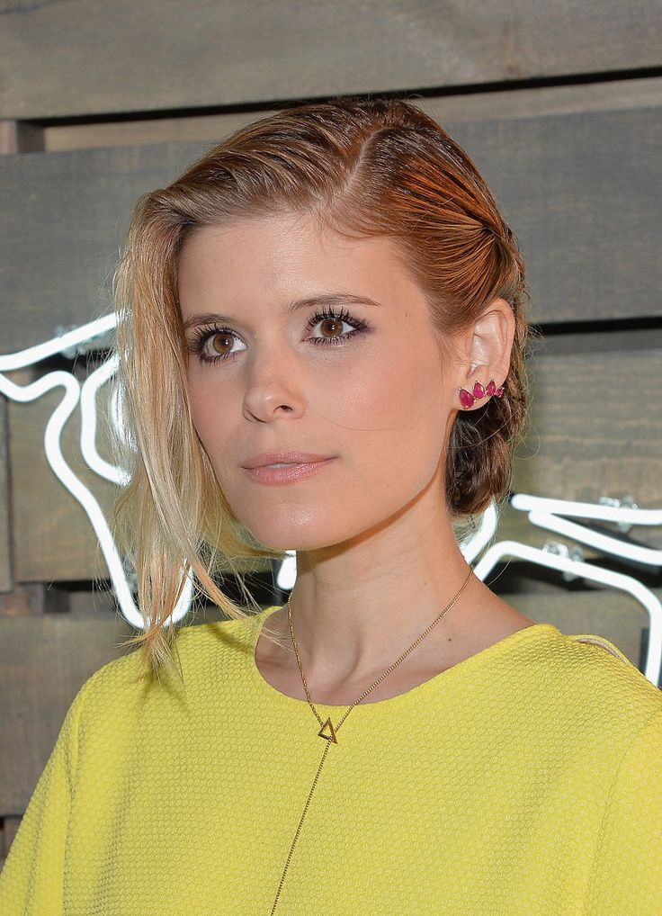12 Times Kate Mara's Updo Was Way Cooler From the Back: Honestly, Kate Mara sort of snuck up on us.