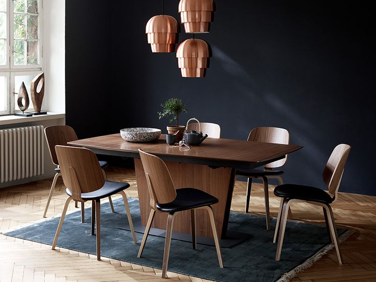 Milano designer walnut dining table Sydney