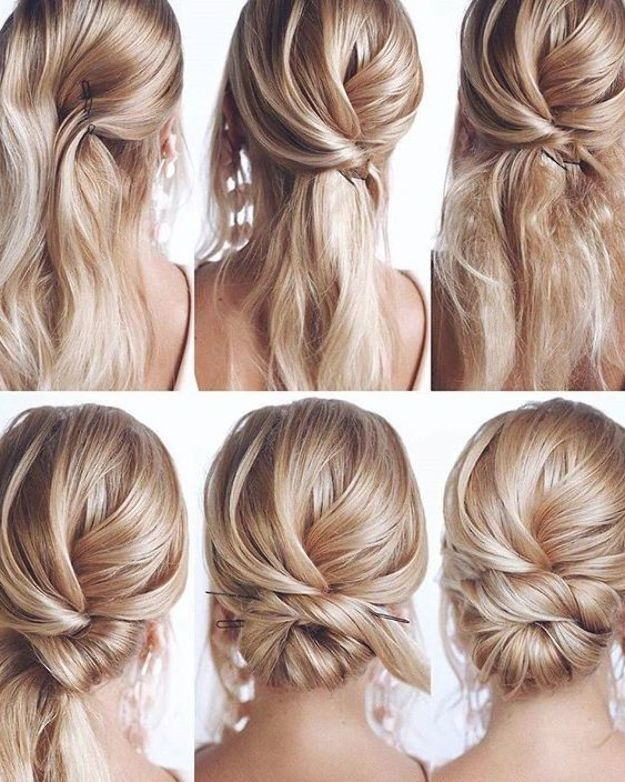Credit Tonyastylist Tips Dye Feature Show Ponytail The Post Hair Style From Hairtuto In 2020 Hochzeitsfrisuren Lange Haare Lange Haare Frisuren Lange Haare Tutorial