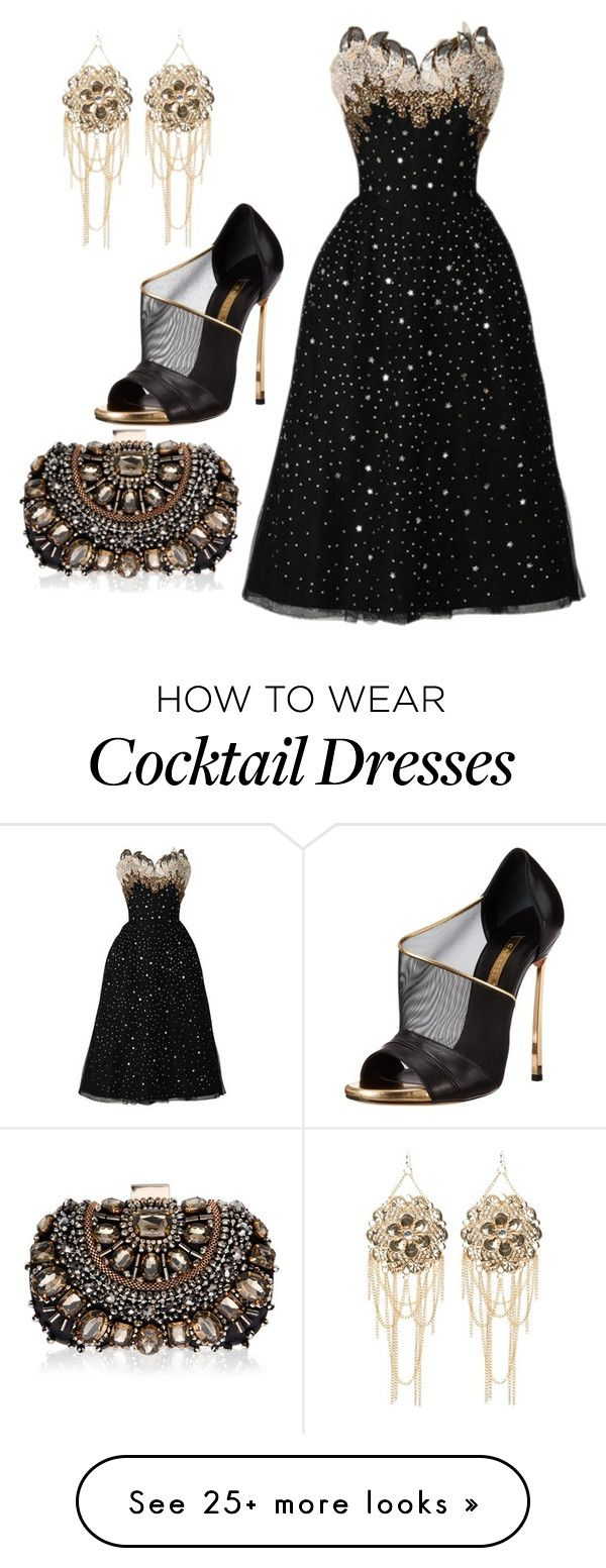 """""""Untitled #1317"""" by cynthiacharmice on Polyvore featuring Bebe, Casadei and Lipsy"""