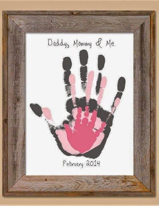 La Cestita del Bebé: Ideas de regalo para el día del padre, con sus manitas
