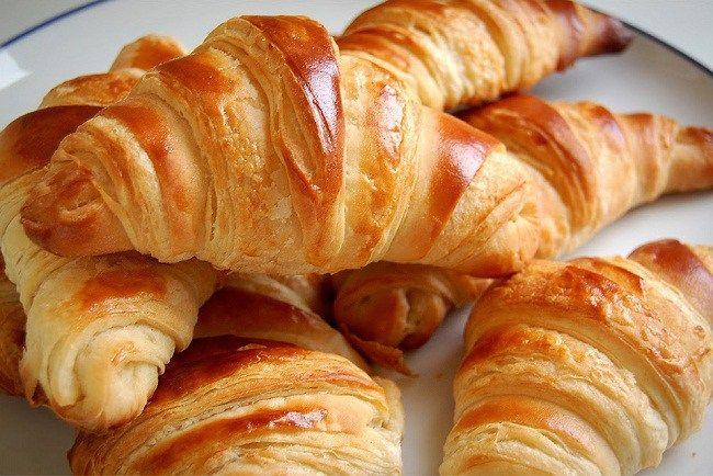 Pin Oleh Lucii Di Colazione Croissant Roti Croissant Resep Roti
