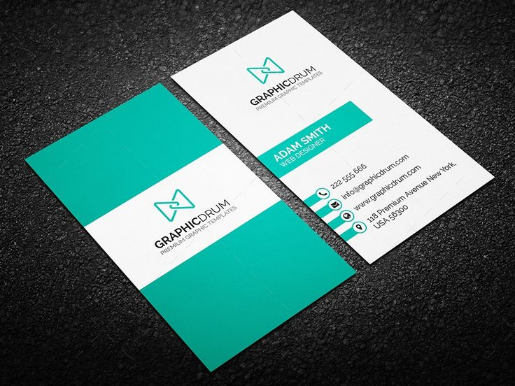 Best Business Card Images On Pinterest Business Card - Best business card templates