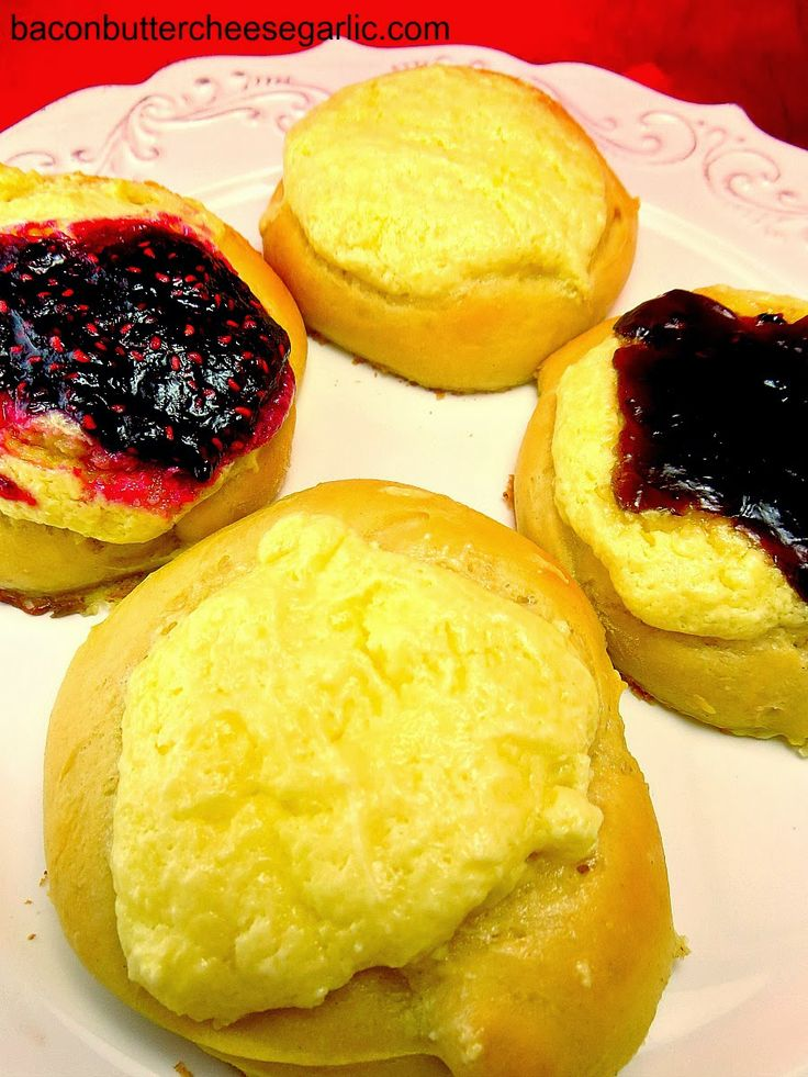 Homemade Jam & Cream Cheese Kolaches! And the dough is made the night ...