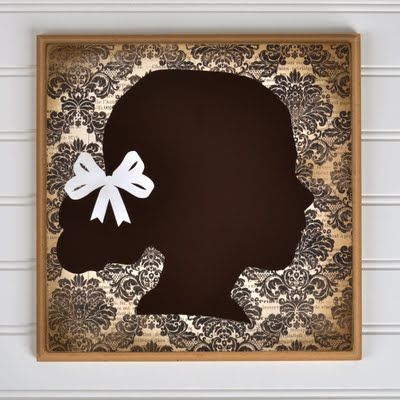 Use the auto trace feature and a photo to create customized Silhouettes.... For the kiddos