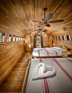 Seriously.  You could stay here...in a PLANE!