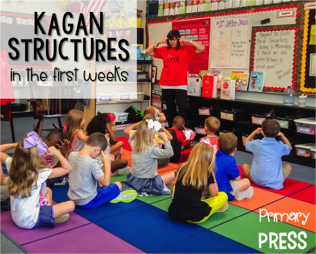 Using Kagan in the first weeks of kindergarten