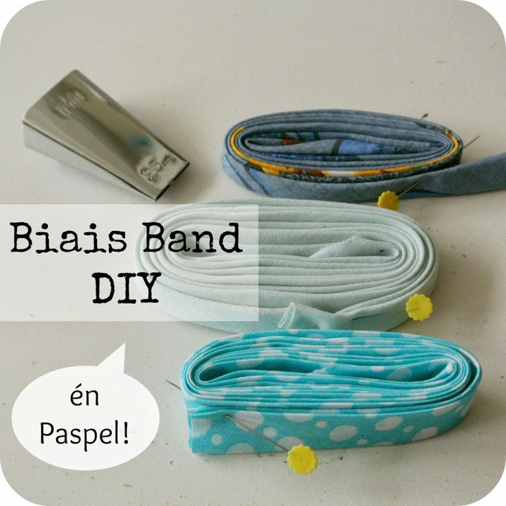 Sew Natural Blog: Maak je eigen Biais- of Paspel-Band