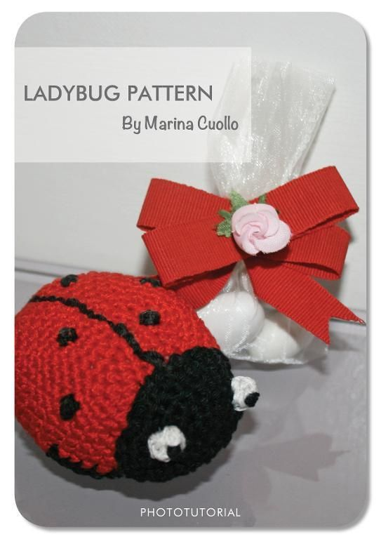 The Ladybug by Marina Pattern | Crocheting Pattern - Looking for your next project? You're going to love The Ladybug by designer Marina Pattern. - via @Craftsy