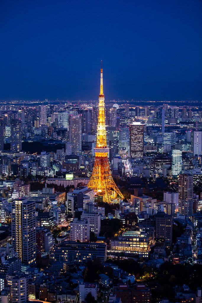Tokyo Tower @ Roppongi Hills 54F Sky Deck