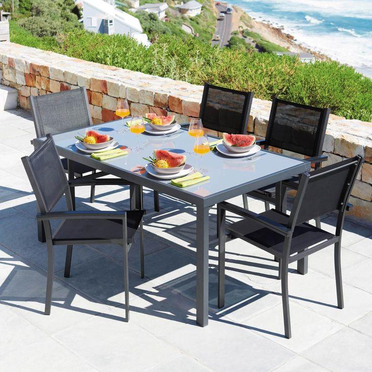 17 meilleures images propos de mdm outdoor sur pinterest tables osier et teck - Table de jardin maison du monde dijon ...