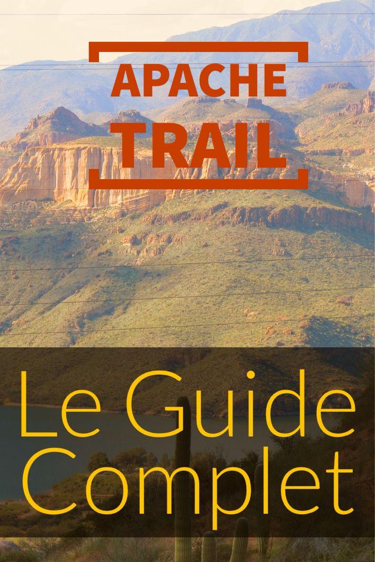 Apache Trail Scenic Drive : Le guide Complet ! Découvrez cette route magique de l'Arizona qui vous fera passer par Goldfield Ghost Town, Tortilla Flat, Fish Creek, Apache Lake ou encore le Theodore Roosevelt Dam ! Repin si vous aimez :)