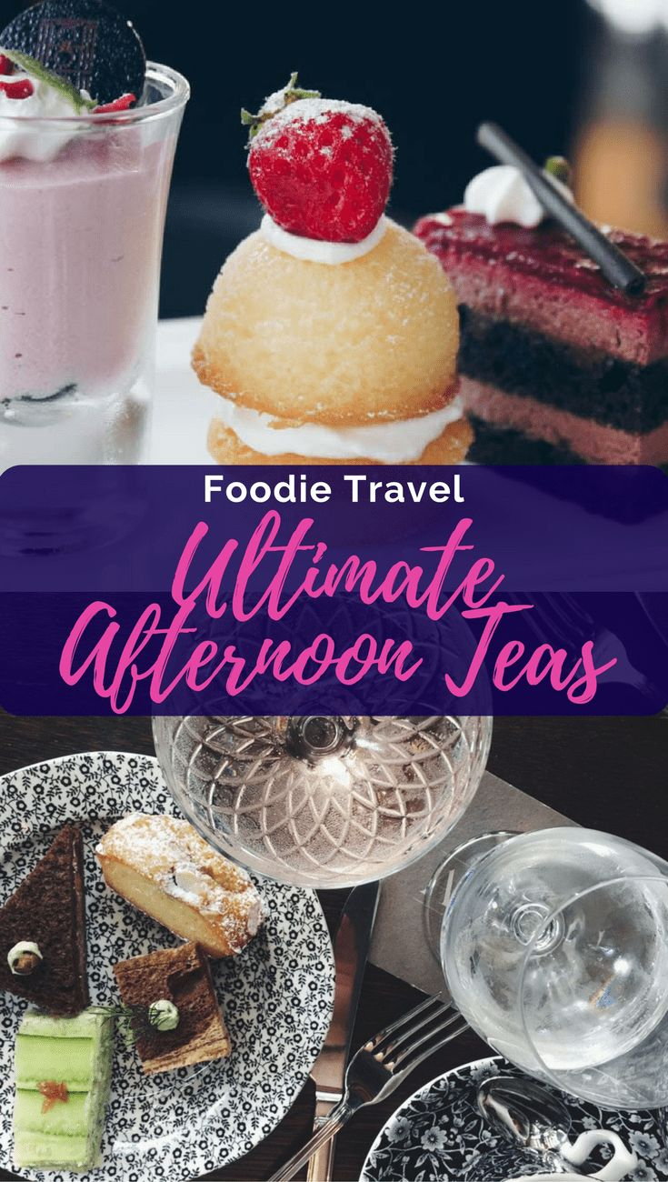 What is the ultimate afternoon tea?