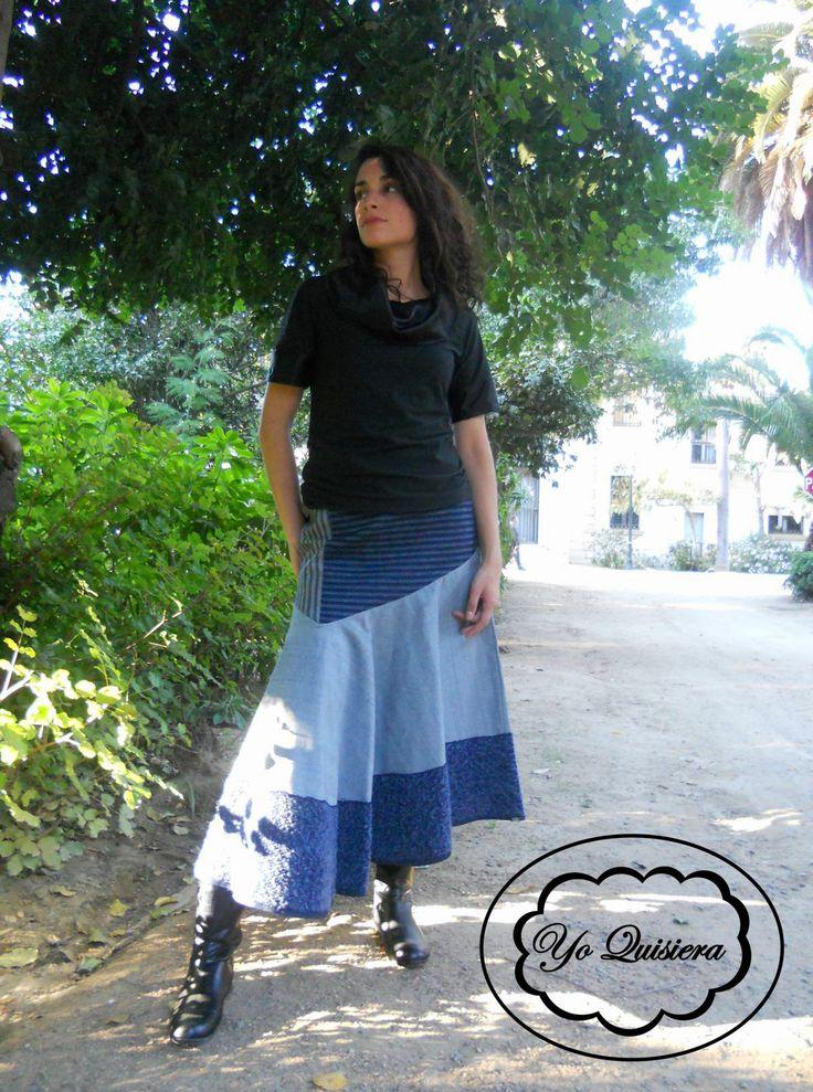 "Falda ""Yo Quisiera"". www.facebook.com/yo.quisiera"