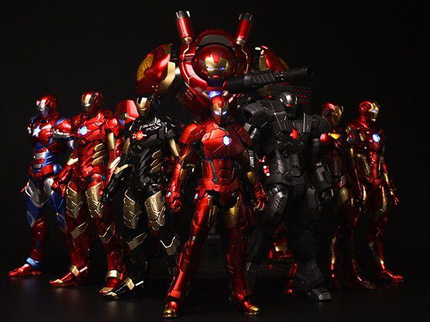RE:EDIT アイアンマンシリーズに「シェイプチェンジングアーマー」がラインナップ!|千値練スタッフブログ