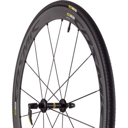Mavic Cosmic Carbone 40 Elite Wheelset - ClincherBlack