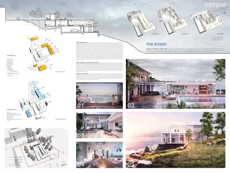 [AC-CA] International Architectural Competition - Concours d'Architecture | [SYDNEY] Maison de Vacances en Containers