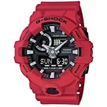 Now available on our store: Casio Men's 'G SH... Check it out here! http://shirindiamond.net/products/casio-men-s-g-shock-quartz-resin-casual-watch-color-red-model-ga-700-4acr?utm_campaign=social_autopilot&utm_source=pin&utm_medium=pin