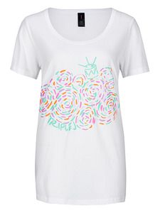 triple j White Swirls T- Shirt. NEW triple j t-shirt - white with coloured swirls. This range is exclusive to ABC Shop Online. $29.99
