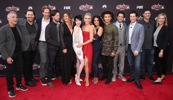The Grease: Live! Cast Reunites on the Red Carpet, Still Looks Hopelessly Devoted to Each Other