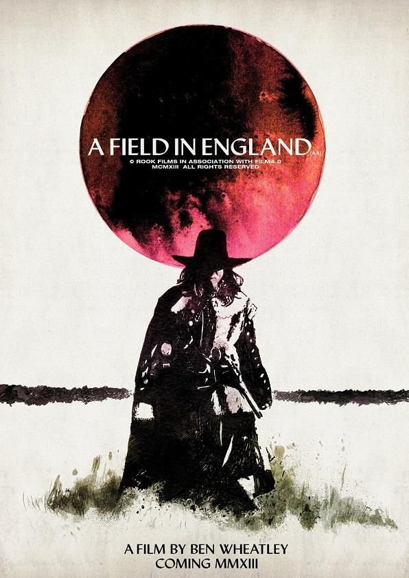First poster for Ben Wheatley's A Field In England | Den of Geek