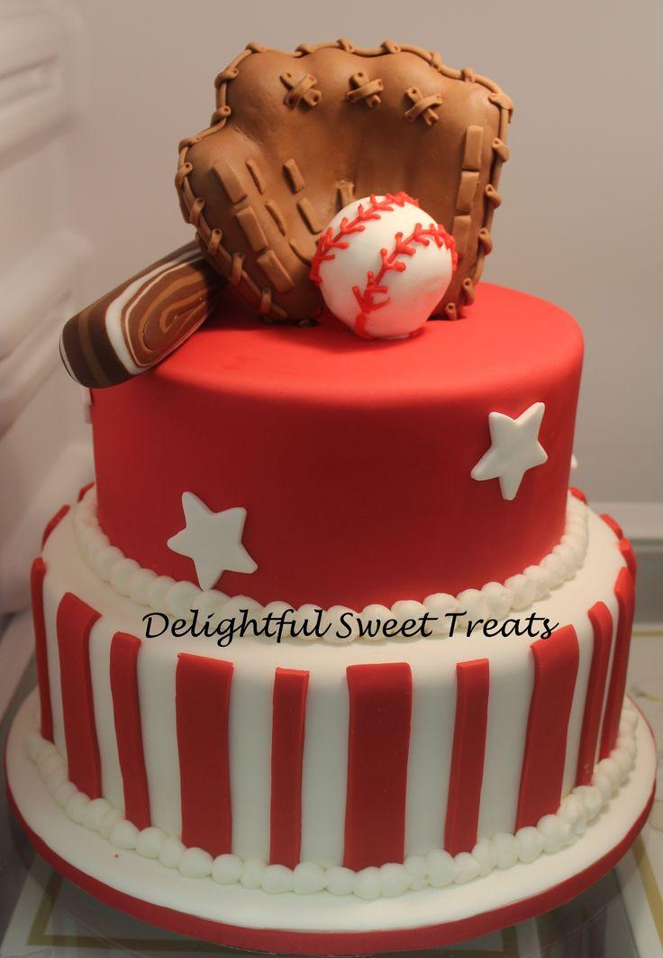 117 best baseball cake images on Pinterest Baseball cakes