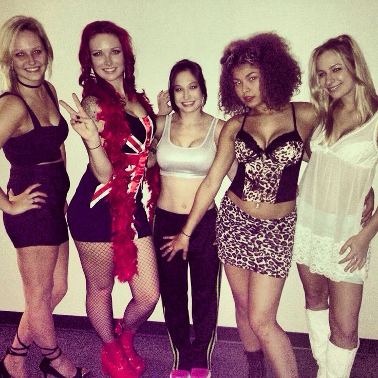 Spice up your life. Halloween costume spice girla