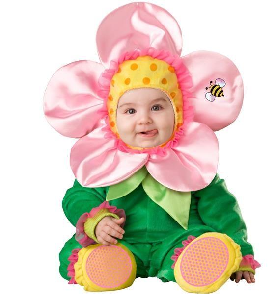 Фотография детского новогоднего костюма цветочек