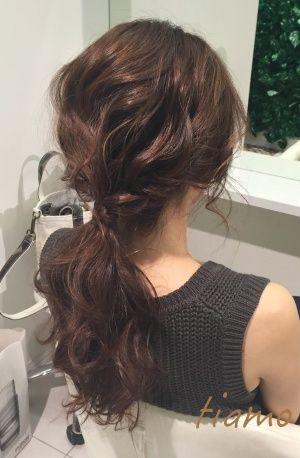 ゆるふわルーズな可愛い3スタイル♡リハ篇|大人可愛いブライダルヘアメイク『tiamo』の結婚カタログ