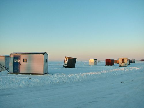 19 best ice shanty 39 s images on pinterest ice fishing for Ice fishing expo