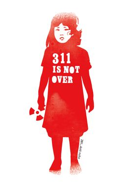 "Saatchi Art Artist Ryan Roth; Painting, ""311 Is Not Over - 281 Anti Nuke"" #art"