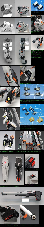 MG 1/100 RX-93 Nu Gundam Ver.Ka [EVOLVE Ver.]: Remodeled by Grework_Ghost. Full Photoreview Wallpaper Size Images [WIP too] | GUNJAP