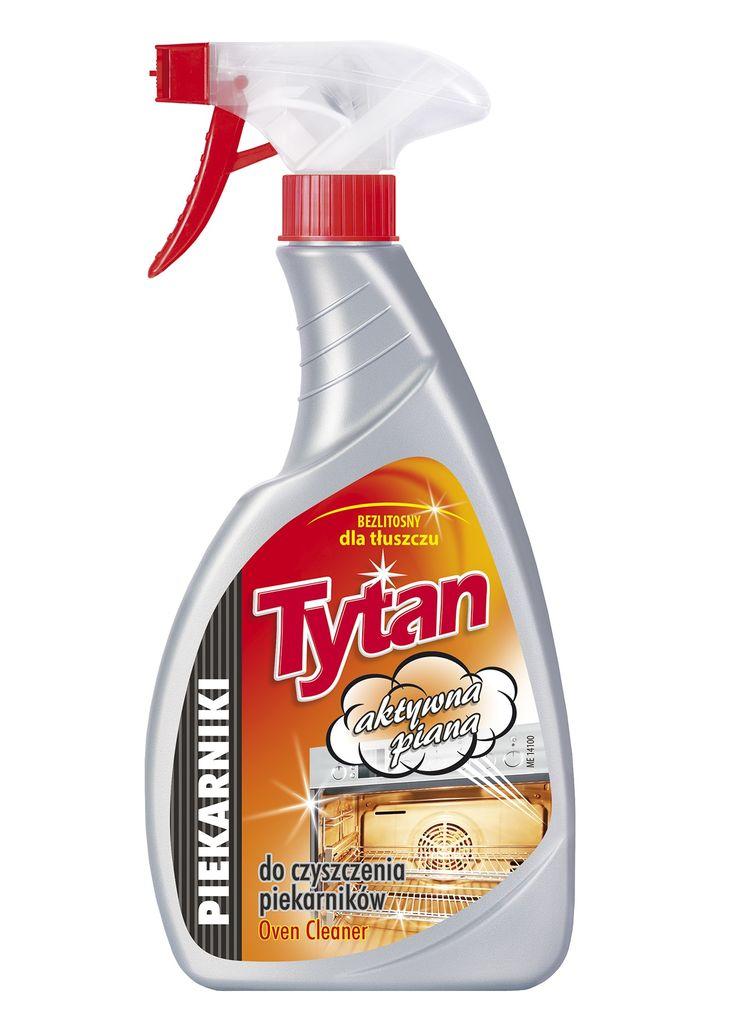 Płyn do czyszczenia piekarników Tytan 500g