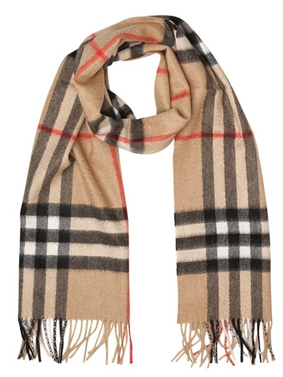 My Christmas gift from the in-laws this year :)!!!!! BURBERRY - Giant Check Cashmere Scarf