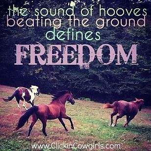 the sound of hooves