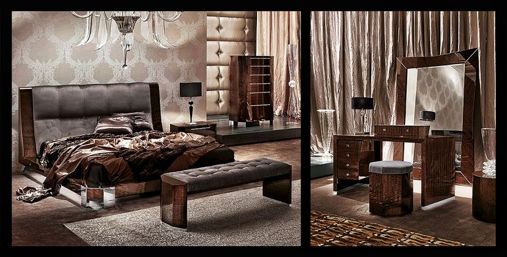 Luxuous bedroom Luxury furniture