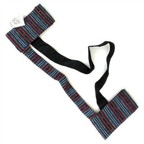 Hand Woven Sololá Yoga Mat Sling in Multicolor Handmade and Fair Trade