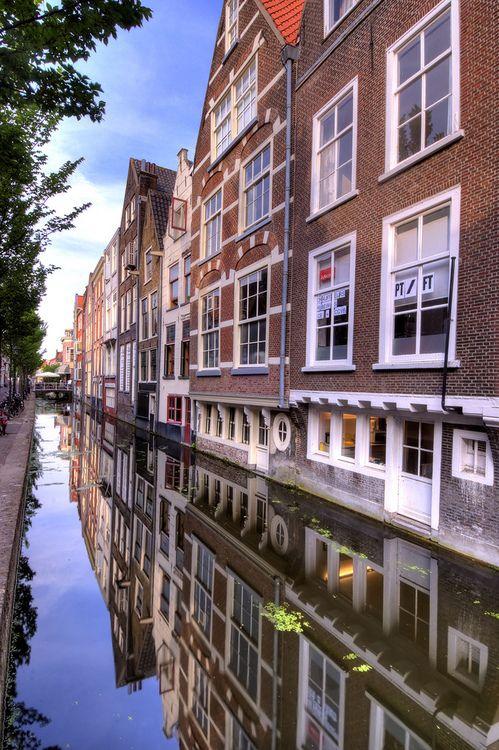Delft, Netherlands - Voldersgracht
