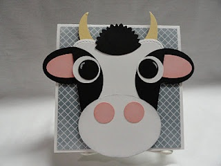 Holy Cow! Done by Christi's Creative Crew! To cute!