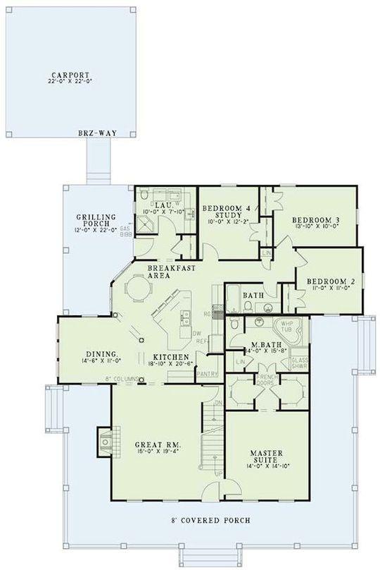 1048 Best Ranch House Plans Images On Pinterest