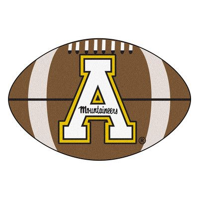 FANMATS NCAA Appalachian State Football Doormat