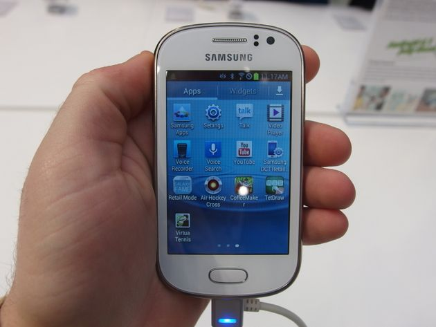Hands On With Samsung's Tiny New Galaxy Phones