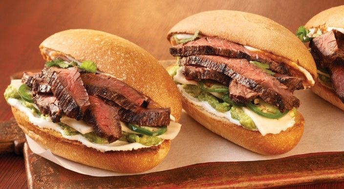 Check out this delicious recipe for Carne Asada Tortas with Avocado  from Weber—the world's number one authority in grilling.