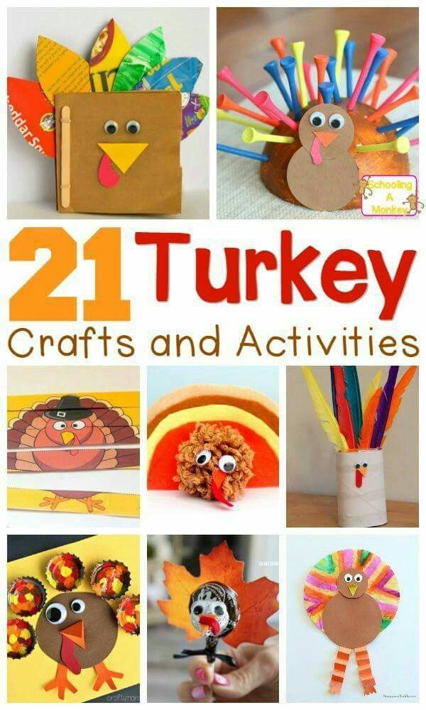 So Cute Thanksgiving Activities For Kids Thanksgiving Crafts